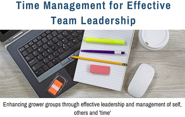 Time Management for Effective Team Leadership