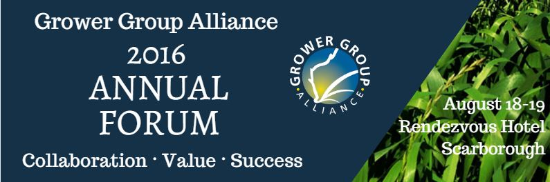 Grower Group Alliance 2016 Annual Forum